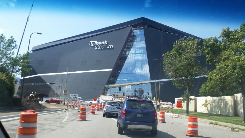 US Bank Stadium 8-14-2015