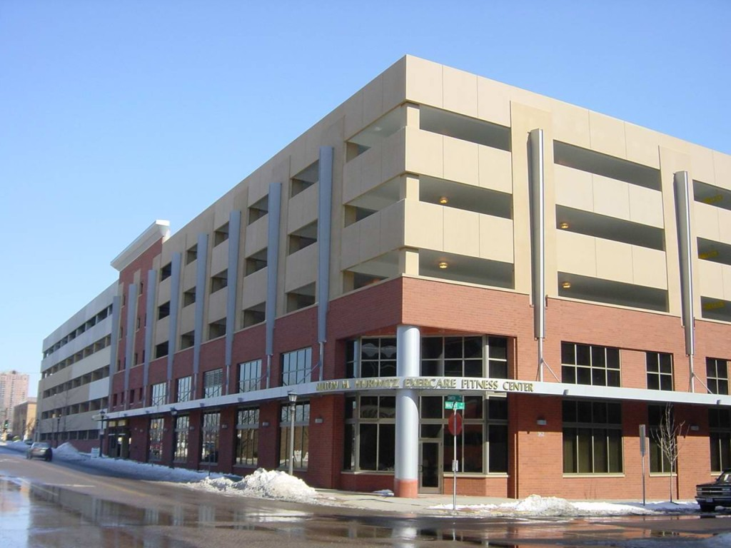 United Hospital Parking Ramp