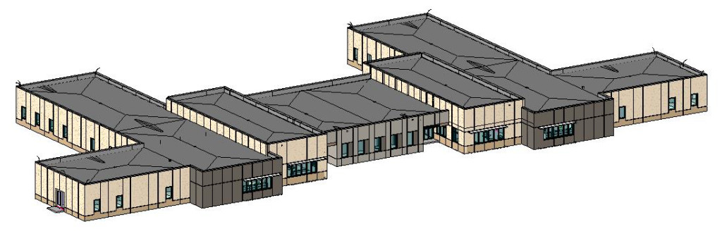 3d View of Transition building