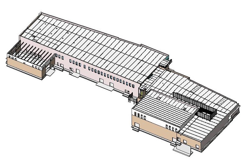 Struc Revit - 3D view-cropped