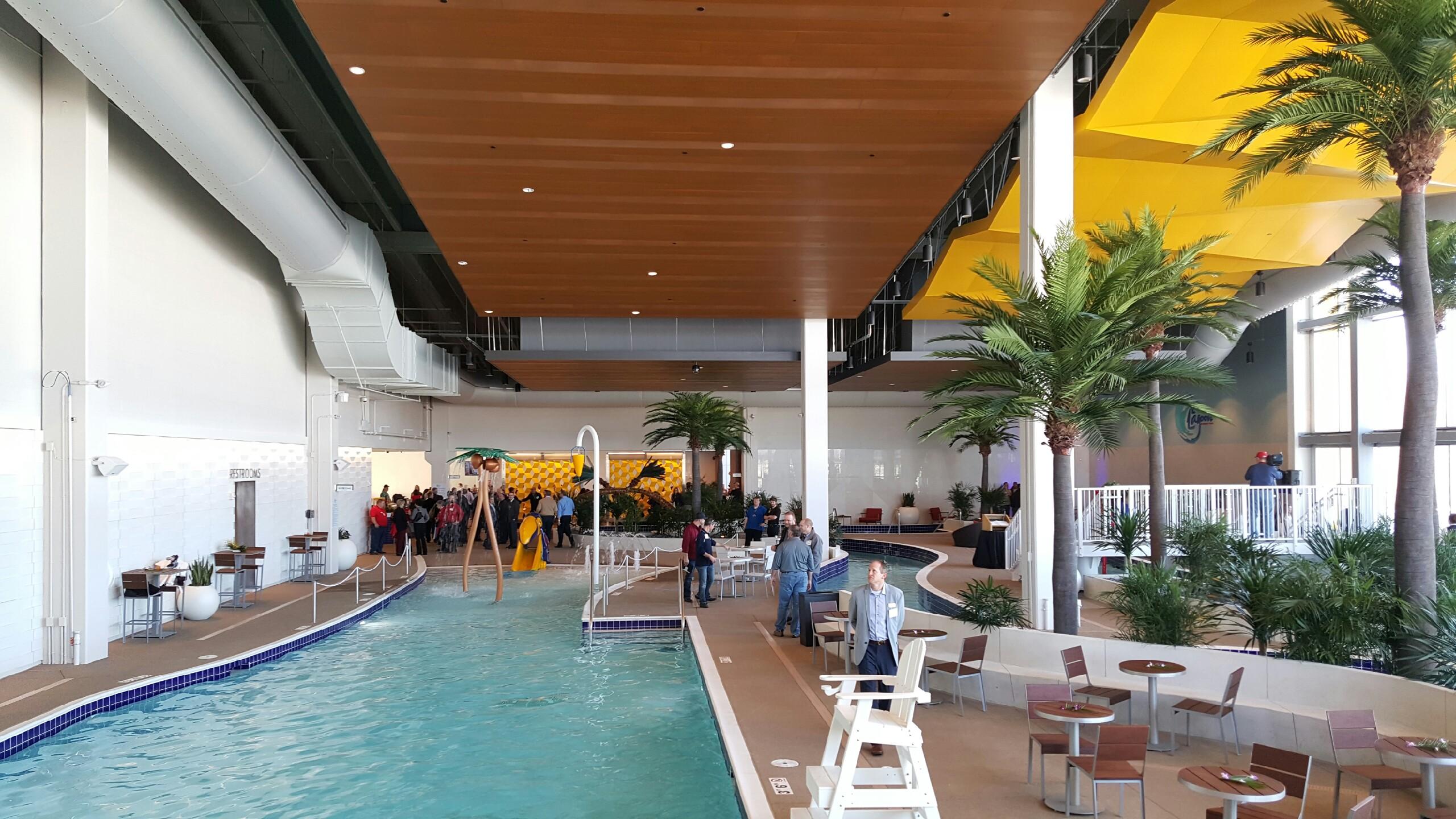 Treasure Island Resort Casino The Lagoon And Wave Spa